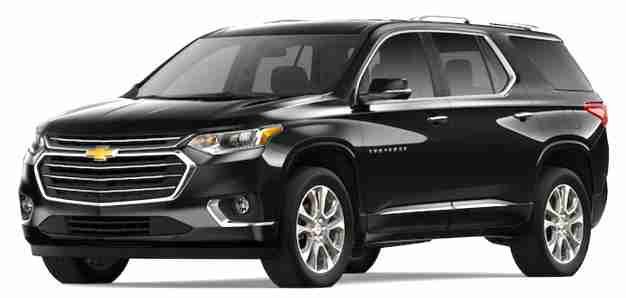 2019 Chevy Traverse Black | Chevy Model
