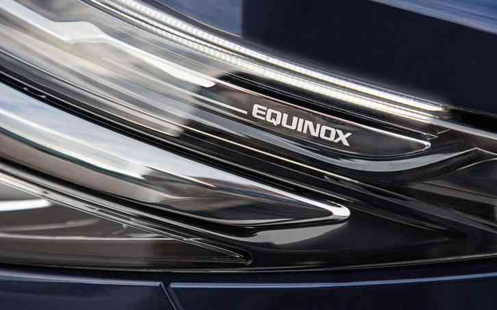 2022 chevy Equinox It will have refreshed headlights, a new grille, updated bumpers